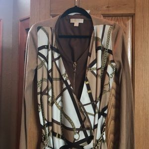 MK sweater with matching belt size M